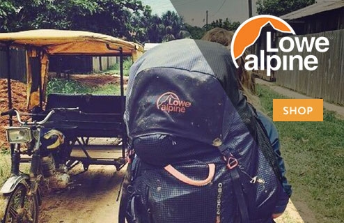 Lowe Alpine at World Backpacker