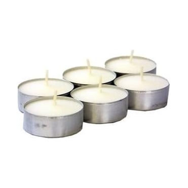 4 Hour Tea Light Candles 6 pack