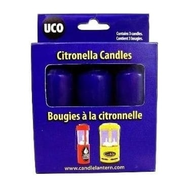 9 Hour citronella Candles 3 pack