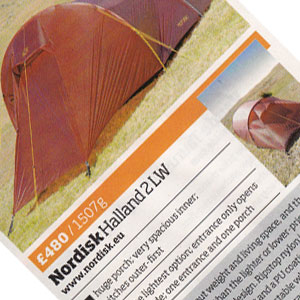 Nordisk Halland 2 LW Tent Product Review