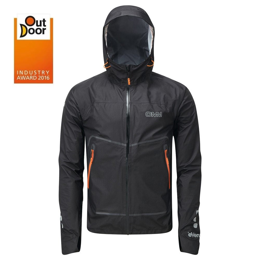 Activewear Blue Clothing & Accessories Strict Omm Aether Mens Running Jacket