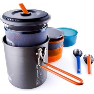 Halulite Micro Dualist Backpacking Cookset