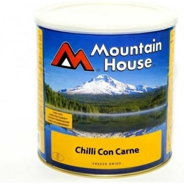 Freeze Dried Tinned Food - Chilli Con Carne