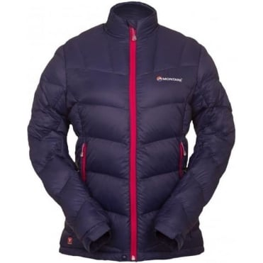 Womens Blue Ice Insulated Jacket