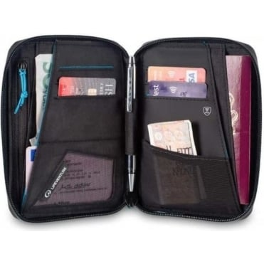 RFID Protected Mini Document Wallet
