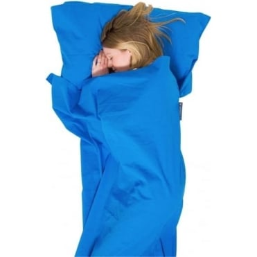 Cotton Sleeping Bag Liner, Anti-bac, Mummy