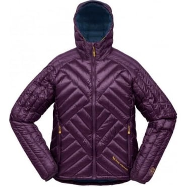 Womens Shovelhead Hooded Down Jacket